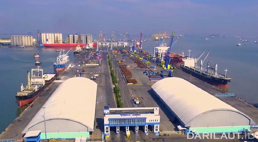 Pelabuhan Tanjung Perak. FOTO: DITJEN PERHUBUNGAN LAUT