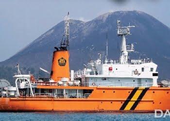 Kapal Riset Geomarin III. FOTO: DOK. LITBANG ESDM