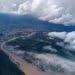 Luapan air yang bermuatan lumpur saat hujan di Daerah Aliran Sungai Bone hingga muara Pelabuhan Gorontalo, dan menyebar ke Teluk Tomini. FOTO: DARILAUT.ID