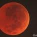 Puncak Gerhana Bulan Total, Sabtu (28/7) dini hari. FOTO: DOK. BMKG