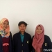 Tiga  mahasiswa Fakultas Matematika dan Ilmu Pengetahuan Alam, IPB, Sejahtera, Annisa Rizki Khairani dan Shintia. FOTO: DOK. IPB.AC.ID