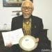 Aprilani Soegiarto mendapat penghargaan dari IOC Sub-Committee for the Western Pacific (IOC/WESTPAC), 28 Maret 2011. FOTO: DOK. ANUGERAH NONTJI