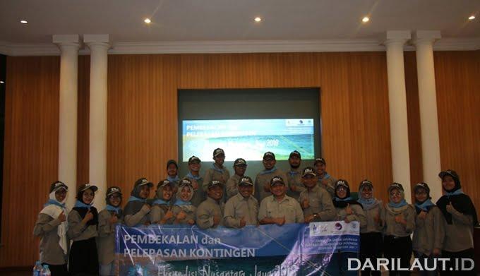Tim Ekspedisi Nusantara Jaya. FOTO: DOK. UGM.AC.ID