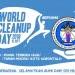 Poster World Clean Up Day di Gorontalo. FOTO: ISTIMEWA.