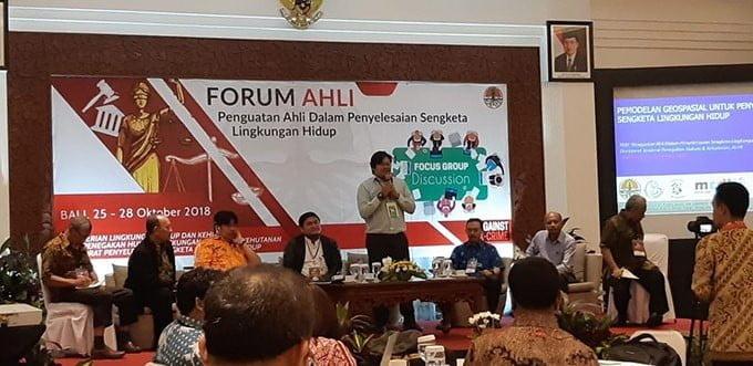 Forum ahli di Bali