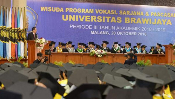Wisuda Universitas Brawijaya. FOTO: DEPHUB