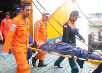 Korban selamat kapal terbakar