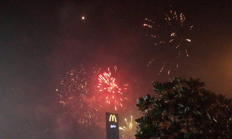 Tahun Baru di Manado