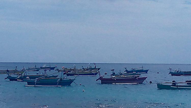 Perahu penangkap ikan tuna