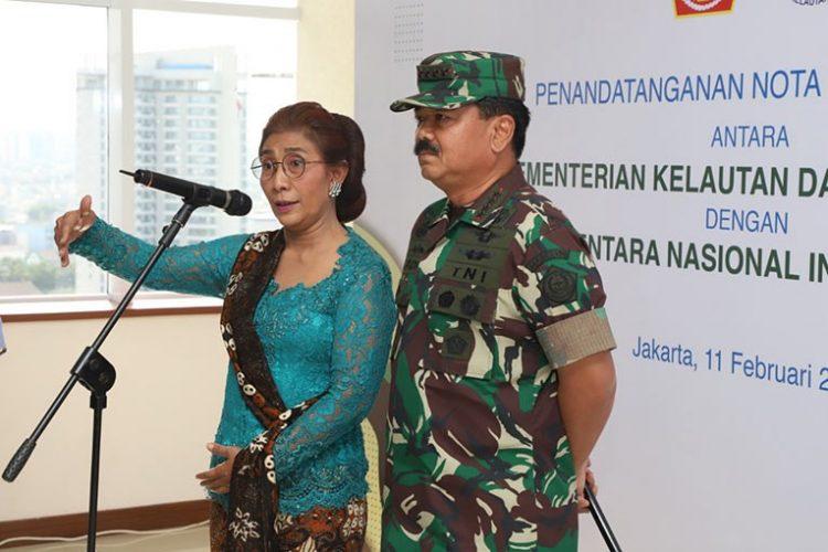 MOU KKP-TNI