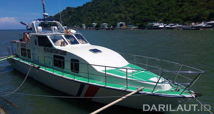 Kapal patroli KPLP. FOTO: DARILAUT.ID