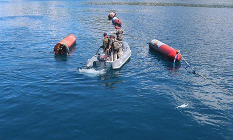 Rumpon (ponton) Filipina. FOTO: KKP