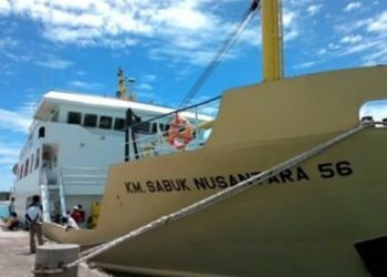 Ilustrasi KM Sabuk Nusantara 56. FOTO: PELNI