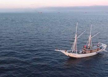 Kapal Pinisi Bakti Untuk Negeri. FOTO: DOK TIM EPBN