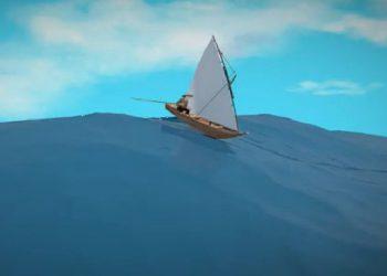 Ilustrasi Ayo Kita Siaga Tsunami