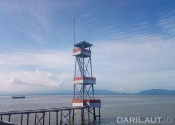 Sebatik, di perbatasan Indonesia dan Malaysia. FOTO: DARILAUT.ID