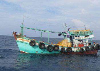 Kapal ikan Vietnam. FOTO: KKP
