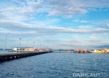 Dermaga pelabuhan Dobo, Kabupaten Kepulauan Aru, Maluku. FOTO: DARILAUT.ID