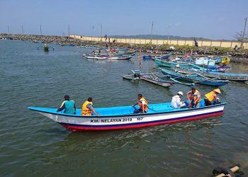 Ujicoba kapal bantuan perikanan. FOTO: KKP