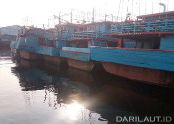 AIS Kelas B wajib dipasang dan diaktifkan pada kapal-kapal berbendera Indonesia  antara lain, kapal penumpang dan kapal barang 35 GT, kapal yang berlayar lintas negara atau barter-trade, serta kapal penangkap ikan paling rendah 60 GT. FOTO: DARILAUT.ID