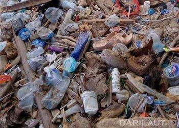 Ilustrasi buangan sampah plastik. FOTO: DARILAUT.ID