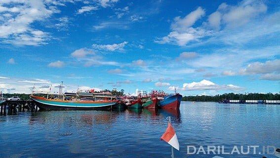 Kapal perikanan Indonesia yang beroperasi di WPP 718.  FOTO: DARILAUT.ID