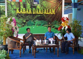 "Program RRI Gorontalo ""Kabar Dari Alam"". FOTO: RRI.CO.ID"