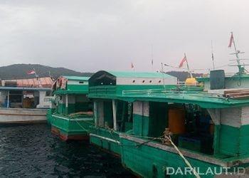 Kapal perikanan di Pelabuhan Perikanan Samudera Bitung. FOTO: DARILAUT.ID