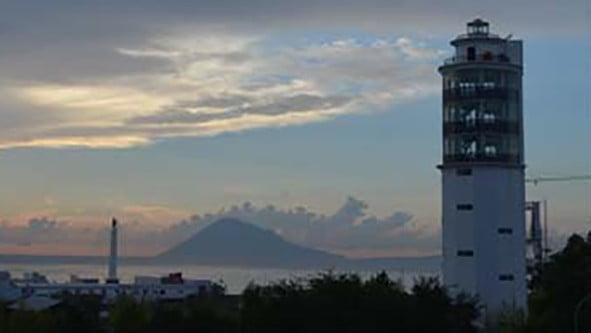 Menara Suar Gunung Wenang Manado. FOTO: MENPAN.GO.ID