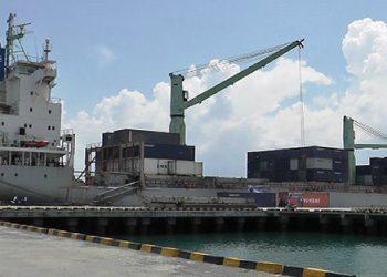 Pelabuhan Anggrek di Gorontalo Utara. FOTO: MIMOZA.TV