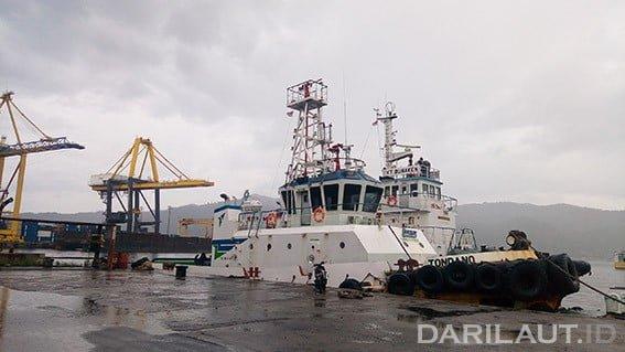 Pelabuhan Bitung. FOTO: DARILAUT.ID