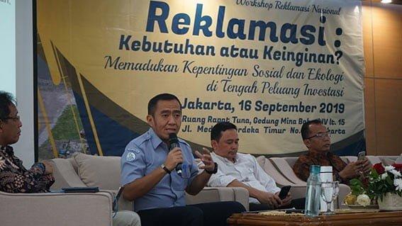 Direktur Jenderal Pengelolaan Ruang Laut Kementerian kelautan dan Perikanan, Brahmantya Satyamurti Poerwadi. FOTO: PRL/KKP