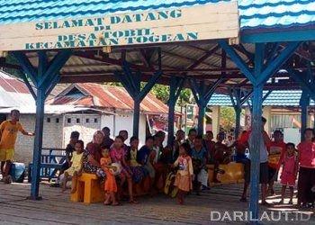 Salah satu desa di Kepulauan Togean. FOTO: DARILAUT.ID