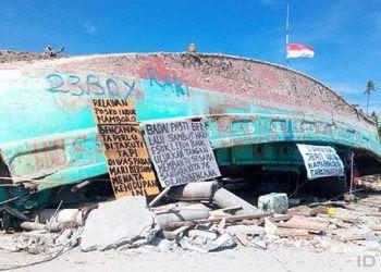 Gempabumi dan tsunami Palu akhir September 2018. FOTO: DARILAUT.ID