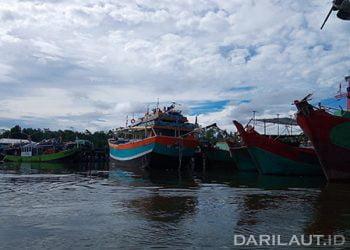 Kapal ikan yang beroperasi di WPP 718. FOTO: DARILAUT.ID