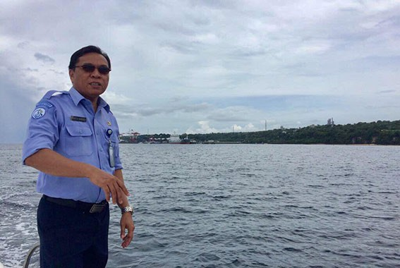 Ikram M Sangadji, Kepala Balai Kawasan Konservasi Perairan Nasional (BKKPN) Kupang, Direktorat Jenderal Pengelolaan Ruang Laut-Kementerian Kelautan dan Perikanan (KKP). FOTO: DOK. ISTIMEWA