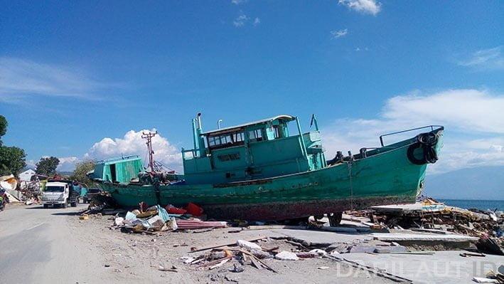 Gempa dan tsunami, Sulawesi Tengah 28 September 2018. FOTO: DARILAUT.ID