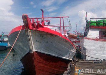 Kapal perikanan di Pelabuhan Benoa. FOTO: DARILAUT.ID