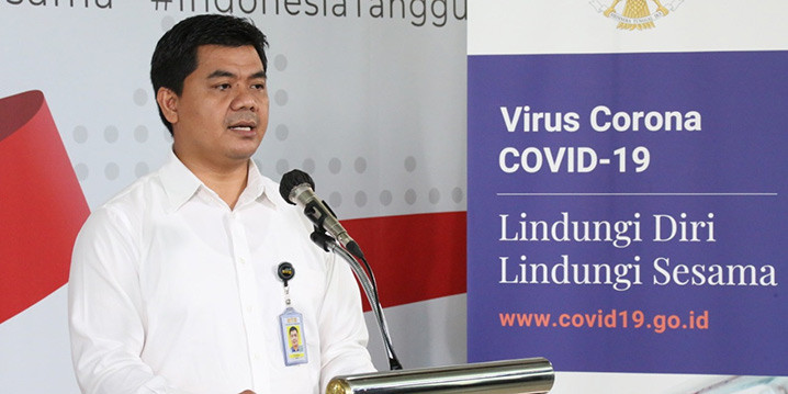 Deputi IV Kantor Staf Presiden Juri Ardiantoro. FOTO: BNPB