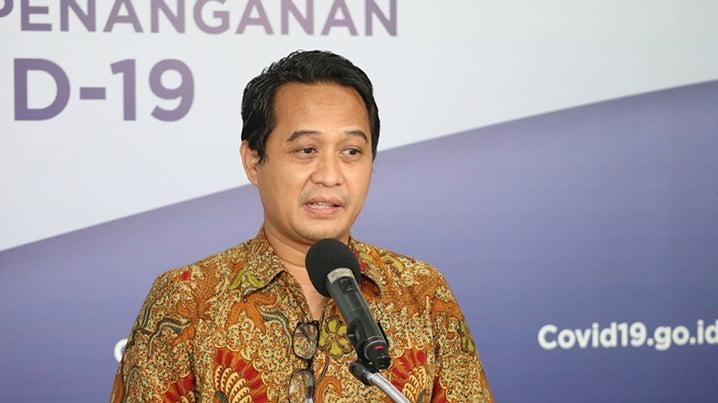 Ketua Umum Pengurus Besar Ikatan Dokter Indonesia (PB IDI) Daeng M Faqih. FOTO: BNPB/Ignatius Toto Satrio