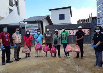 WNI di wilayah Kerja Konsulat RI Tawau. FOTO: KEMLU