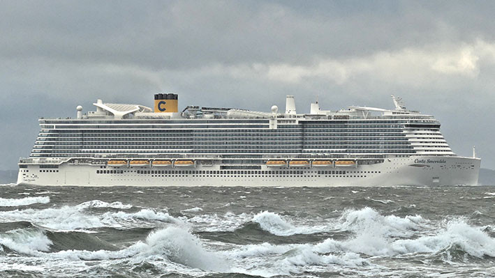 Ilustrasi kapal pesiar Costa Smeralda. FOTO: WIKIPEDIA.ORG