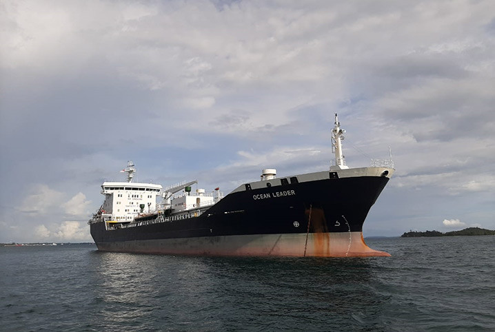 Kapal MT Ocean Leader. FOTO: DOK. HUBLA