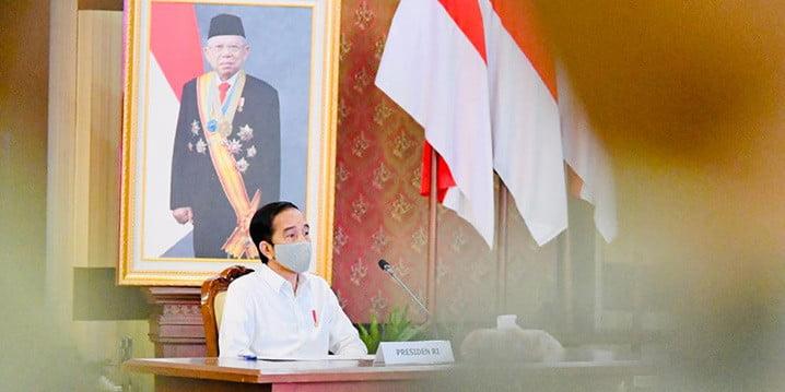 Presiden Joko Widodo Memberikan Arahan Kepada Pemerintah Daerah. FOTO: Laily Rachev/Biro Pers Sekretariat Presiden