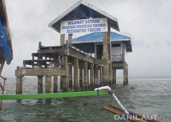 Salah satu lokasi penyelaman di Taman Nasional Kepulauan Togean. FOTO: DARILAUT.ID
