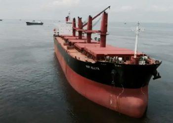 Ilustrasi kapal MV Nur Allya. FOTO: YOUTUBE