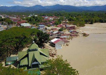 Banjir Bandang di Kabupaten Luwu Utara, Provinsi Sulawesi Selatan. FOTO: BNPB