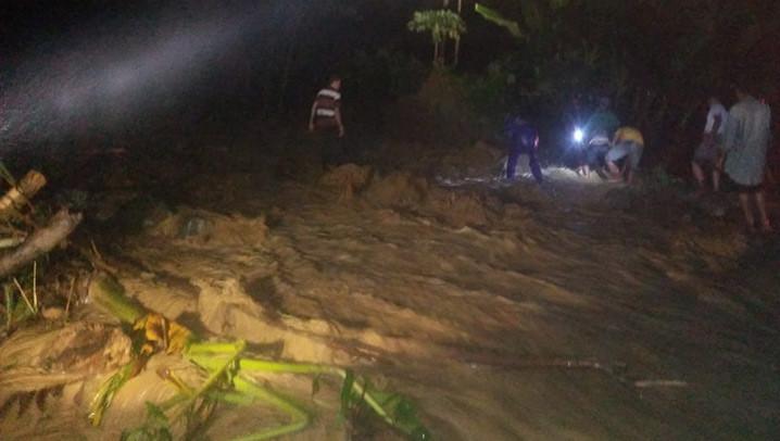 Kondisi pascabanjir di Kabupaten Tanggamus, Provinsi Lampung. FOTO: BPBD Tanggamus/BNPB