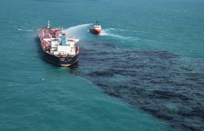 Kapal MV Alyarmouk. FOTO: DOK. KEMENHUB