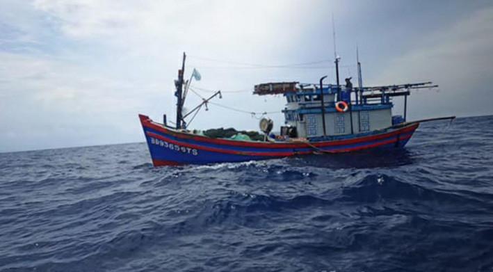 Ilustrasi kapal ikan Vietnam. FOTO: TNIAL.MIL.ID